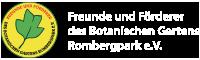 Freunde und Förderer des Botanischen Gartens Rombergpark e.V.